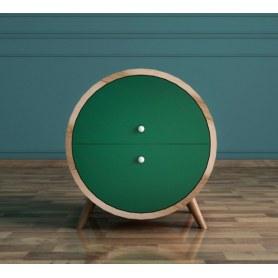 Тумба Ellipse (EL10G) круглая с ящиками