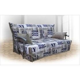 Прямой диван Аккордеон (1200) с боковинами
