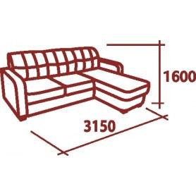 Угловой диван Оканта