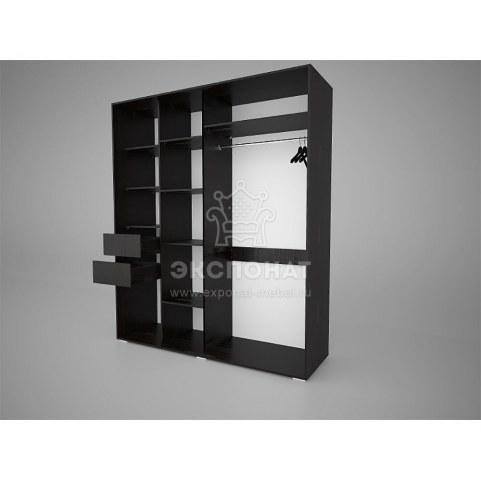 Шкаф-купе Арктур 1800 ящики