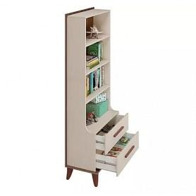 Шкаф книжный в молодежную Юниор