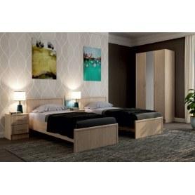 Спальный гарнитур модульный Нокс