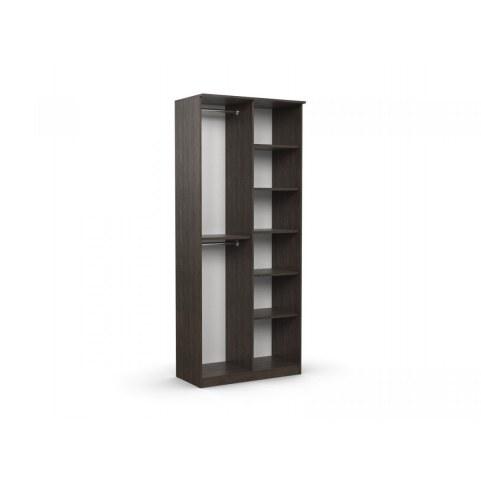 Шкаф двухдверный с зеркалом в спальню Дуэт Люкс
