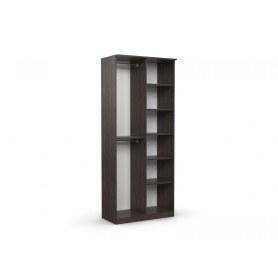 Шкаф двухдверный без зеркала в спальню Дуэт Люкс
