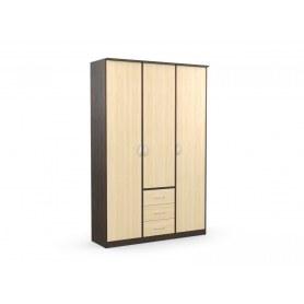 Шкаф комбинированный без зеркала в спальню Дуэт Люкс